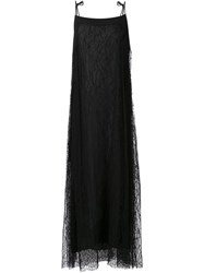 Adam By Adam Lippes Adam Lippes Layered Lace Dress Black