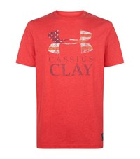 Under Armour Underarmour Cassius Clay T Shirt Male Red