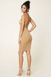 Forever 21 Open Back Mini Dress