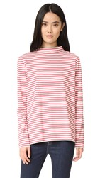 Mih Jeans Emelie Top Clay Red Stripe