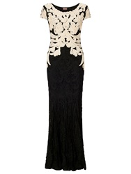 Phase Eight Collection 8 Allegra Tapework Dress Black Champagne