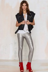 Nasty Gal Amuse Society In A Manner Of Sequin Leggings