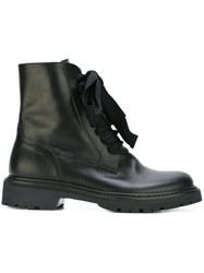 A.F.Vandevorst Lace Up Boots Black
