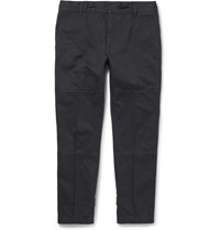 Marc Jacobs Drawstring Cotton Trousers Black