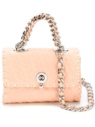 Ermanno Scervino Textured Crossbody Bag Pink And Purple