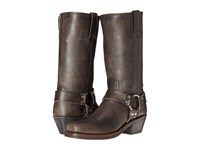 Frye Harness 12R Smoke Washed Oiled Vintage Women's Pull On Boots Black