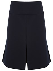 Gloria Coelho High Waisted Skirt Blue