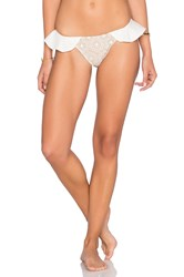 For Love And Lemons St. Tropez Bikini Bottom Ivory