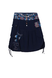 Desigual Aire Skirt Red