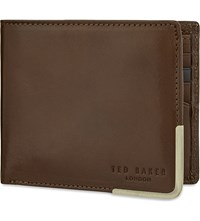 Ted Baker Breeze Leather Wallet Tan