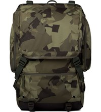 Blcbrand Newsboy Camo Resistance Backpack