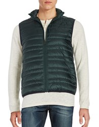 Michael Kors Quilted Down Puffer Vest Pine