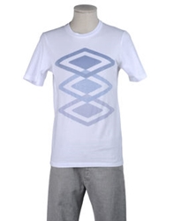 Umbro By Kim Jones Umbro Short Sleeve T Shirts Sky Blue