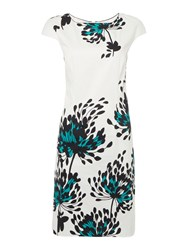 Linea Floral Printed Shift Dress Multi Coloured