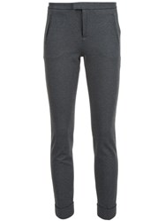 Atm Anthony Thomas Melillo 'Ponte' Slim Fit Trousers Grey