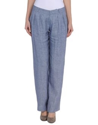 Masscob Casual Pants Slate Blue