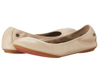 Hush Puppies Chaste Ballet Nude Leather Women's Flat Shoes Pink