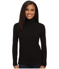 Pendleton Petite Turtleneck Black Women's Clothing