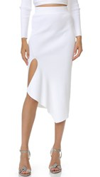 Cushnie Et Ochs Knit Pencil Skirt White