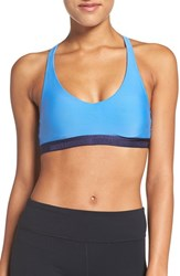 Under Armour Women's Strappy Racerback Sports Bra Water Navy Navy