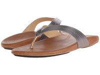 Olukai Wana Pewter Sahara Women's Sandals