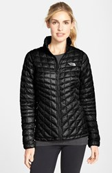 The North Face Women's 'Thermoball' Primaloft Front Zip Jacket Tnf Black
