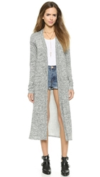 Riller And Fount Patrizzio Long Cardigan Pebble