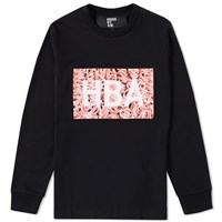 Hood By Air Long Sleeve Meat Box Tee Black