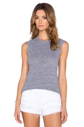 Lanston Tri Blend Fitted Muscle Tee Gray