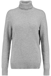 Michael Kors Cashmere And Cotton Blend Turtleneck Sweater