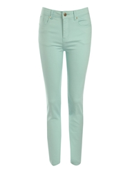 Jane Norman Coloured Skinny Jeans Green