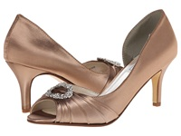 Touch Ups Olivia Cappucino Women's Bridal Shoes Brown
