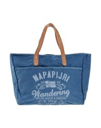 Napapijri Bags Handbags Women Slate Blue