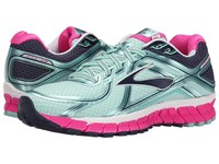 Brooks Adrenaline Gts 16 Blue Tint Pink Glo Peacoat Women's Running Shoes