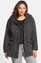 Plus Size Women's Steve Madden Sweater Knit Anorak