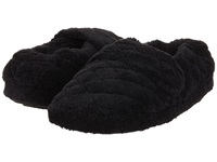 Acorn Spa Wrap Black Fabric Women's Slippers