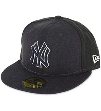 New Era 59Fifty New York Yankees Fitted Cap Navy Black