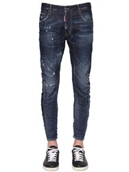 Dsquared 17Cm Tidy Biker Officer Stretch Jeans