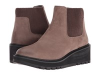 Eileen Fisher Chelsea Dusk Tumbled Nubuck Women's Pull On Boots Brown