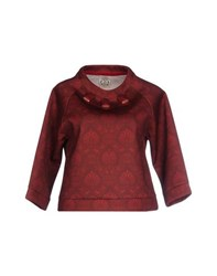 So Nice Topwear Sweatshirts Women Maroon