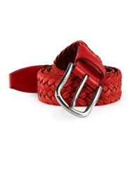 Tod's Braided Leather Belt