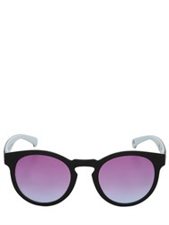 Adidas Originals By Italia Independent Rounded Matte Acetate Sunglasses