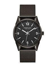 Kenneth Cole Classic Battery Powered Stainless Steel Analog Watch Gunmetal