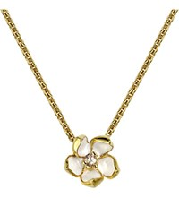 Shaun Leane Sterling Silver Gold Vermeil Cherry Blossom Necklace Size 1