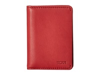 Tumi Chambers Gusseted Card Case Crimson Credit Card Wallet