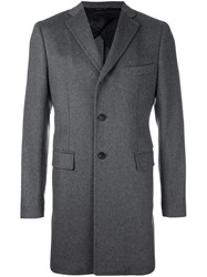Tonello Single Breasted Coat Grey