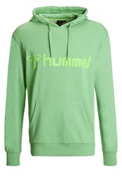 Hummel Classic Bee Hoodie Green Flash Melange