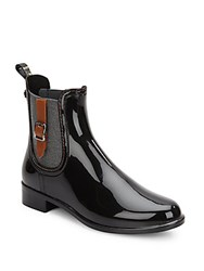 Igor Urban Rain Boots Black Brown