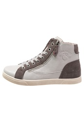 Tom Tailor Hightop Trainers Light Grey