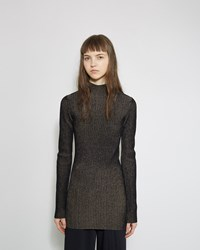 Proenza Schouler Rib Turtleneck Black